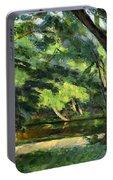 Cezanne: Etang, 1877 Portable Battery Charger