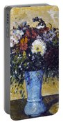 Cezanne: Flowers, 1873-75 Portable Battery Charger