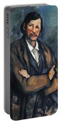 Cezanne: Man, C1899 Portable Battery Charger