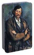 Cezanne: Man, C1899 Portable Battery Charger