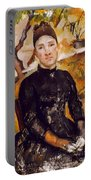 Cezanne: Mme Cezanne, 1890 Portable Battery Charger