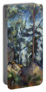 Cezanne: Pines, 1896-99 Portable Battery Charger