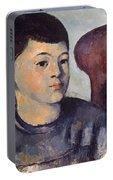 Cezanne: Portrait Of Son Portable Battery Charger