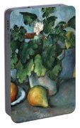 Cezanne: Still Life, C1888 Portable Battery Charger
