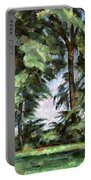 Cezanne: Trees, C1885-87 Portable Battery Charger