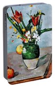 Cezanne: Tulips, 1890-92 Portable Battery Charger