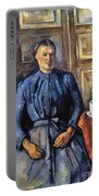 Cezanne: Woman, 1890-95 Portable Battery Charger