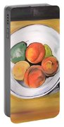 Cezannes Fruit Bowl Portable Battery Charger