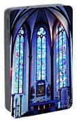 Chagall Windows In St Stephen's Church 1   Portable Battery Charger
