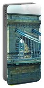 Chain Bridge Budapest Portable Battery Charger
