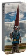 Chainsaw Art Gnome Portable Battery Charger