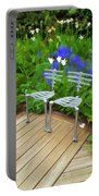 Chairs In The Garden Portable Battery Charger