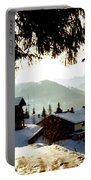 Chalet Through The Trees Portable Battery Charger