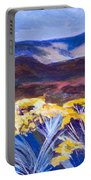 Chamisa And Mountains Of Santa Fe Portable Battery Charger