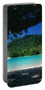 Champagne Beach Portable Battery Charger