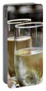 Champagne Glasses Portable Battery Charger