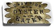 Champion Oyster Eater - To License For Professional Use Visit Granger.com Portable Battery Charger