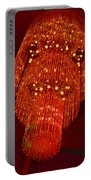 Chandelier In Red  Portable Battery Charger