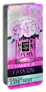 Chanel Perfume With Peony Portable Battery Charger