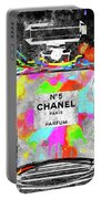 Chanel Rainbow Colors Portable Battery Charger