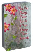 Change Your World Portable Battery Charger