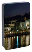 Chania By Night  Portable Battery Charger