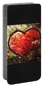 Chaos In Heart Portable Battery Charger