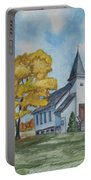 Chapel In Fall Portable Battery Charger
