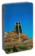 Chapel Of The Holy Cross Sedona Arizona Portable Battery Charger