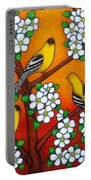 Chardonnay Sunset Portable Battery Charger