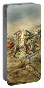 Charge Of The Seventh Cavalry Portable Battery Charger