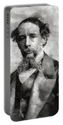 Charles Dickens Author Portable Battery Charger