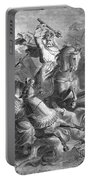Charles Martel, Battle Of Tours, 732 Portable Battery Charger