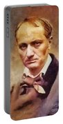 Charles Pierre Baudelaire, Literary Legend Portable Battery Charger
