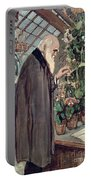 Charles Robert Darwin Portable Battery Charger by John Collier