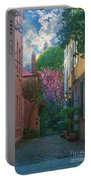 Charleston Alley In The Spring Portable Battery Charger