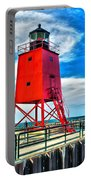 Charlevoix South Pier Light Portable Battery Charger