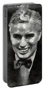 Charlie Chaplin Hollywood Legend Portable Battery Charger