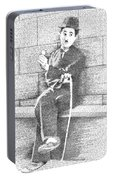 Charlie Chaplin In His Own Words Portable Battery Charger