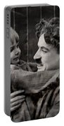 Charlie Chaplin Portable Battery Charger
