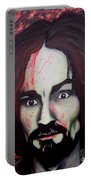 Charlie Manson Portable Battery Charger