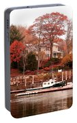 Charming Lady At Rockport Portable Battery Charger