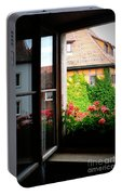 Charming Rothenburg Window Portable Battery Charger