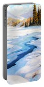Charming Winter Portable Battery Charger