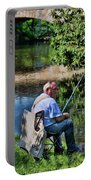 Chartres, France, A Good Day Fishing Portable Battery Charger