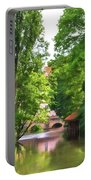 Chartres, France, Park On L'eure River Portable Battery Charger