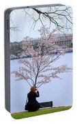 Chasing Blossoms Portable Battery Charger