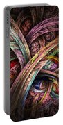 Chasing Colors - Fractal Art Portable Battery Charger