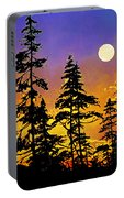 Chasing The Moon Portable Battery Charger