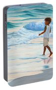 Chasing The Waves Portable Battery Charger